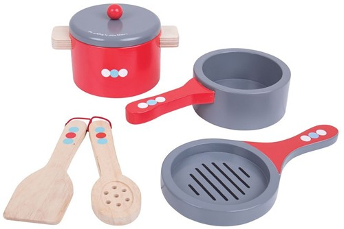 Bigjigs Cooking Pans