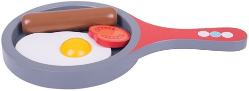 Bigjigs Cooked Breakfast Set with 1 tomato