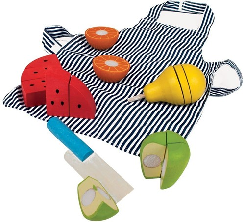 Bigjigs Cutting Fruit Chefs Set